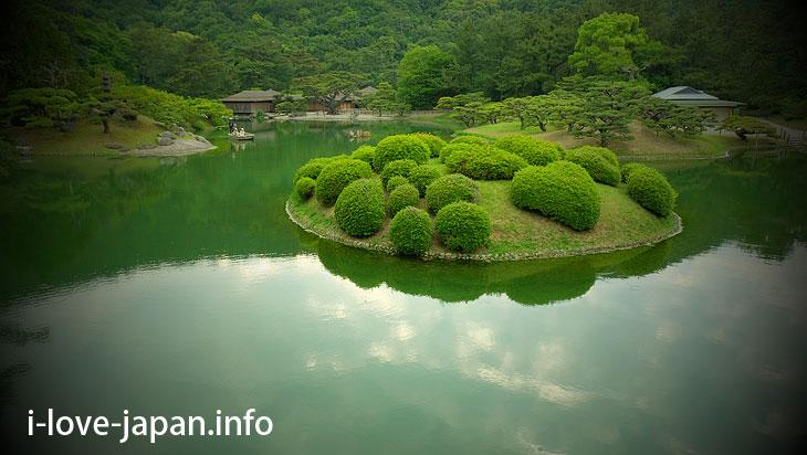 Nan-ko(South Lake)@Ritsurin Garden (Takamatsu, Kagawa)