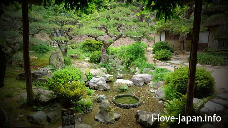 Kyu(old) Higurashi Tei@Ritsurin Garden (Takamatsu, Kagawa)