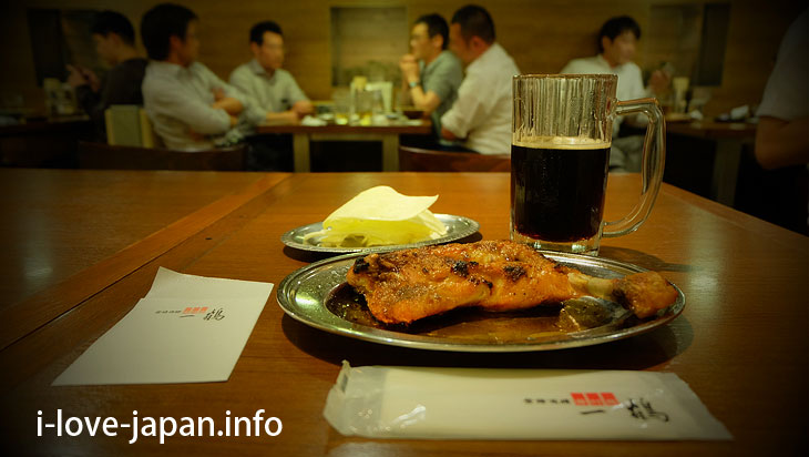 "You can eat ""Originator ""Chicken-on-the-bone at Ikkaku@Sightseeing Area naer Takamatsu station,Takamatsu port(Kagawa)"