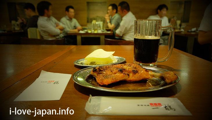 "You can eat ""Originator ""Chicken-on-the-bone at Ikkaku@Sightseeing Area naer Takamatsu station,Takamatsu port(Kagawa)"
