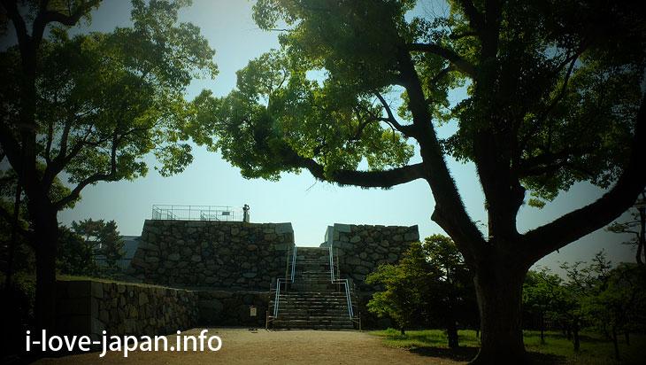 Historic site Takamatsu Castle Ruins / Tamami park@Sightseeing Area naer Takamatsu station,Takamatsu port(Kagawa)