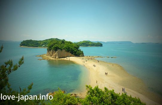 Not only Angel Road! But Also Shodoshima Tonosho Port area's sights [3 hour course] (Kagawa)