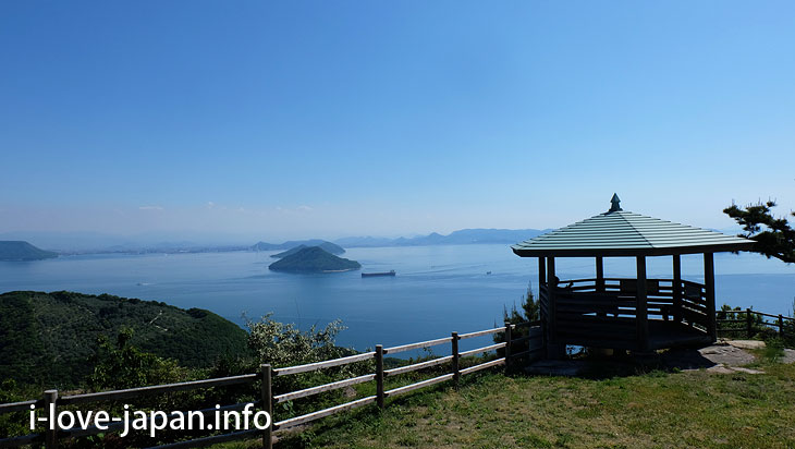 "Okazaki Park (""Dan-yama mountain"" Observation Deck)@Not Only Teshima Art Museum But Also Many Sightseeing Spots in Teshima island(Kagawa)"