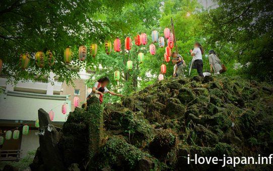 "When the opening of a Mt Fuji to climbers, I climbed ""Shimoya Sakamoto Fuji"" in Ono Terusaki Shrine(Taitou-ku,Tokyo)"