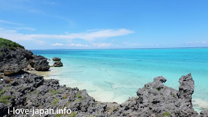Funakura Coast in Yoron Island