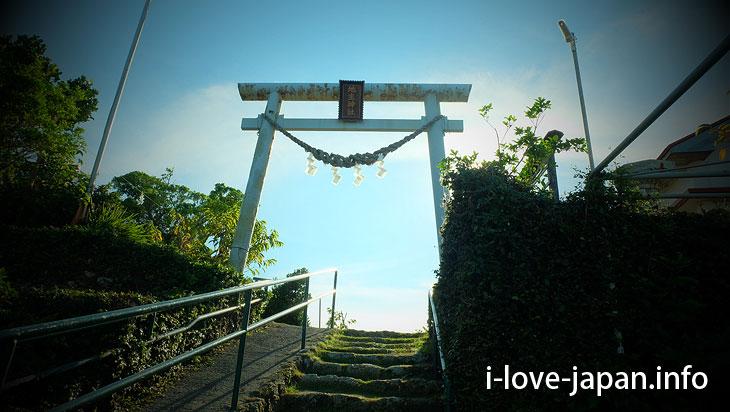 Tokonushi Shrine in Yoron Island