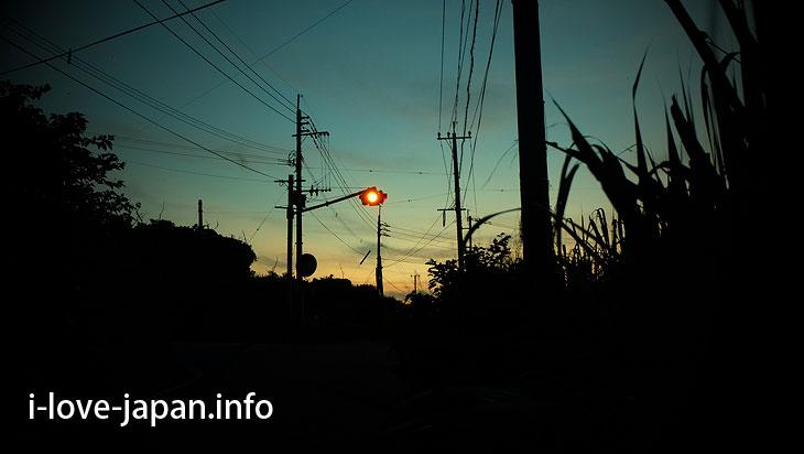 Blink signal in Yoron Island