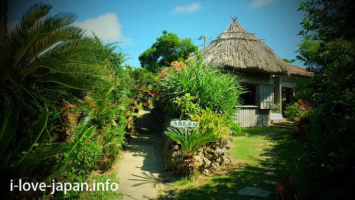 In Yoron folk village, touching Yoron Island's life, history in Yoron Island