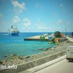Yoron Port in Yoron Island