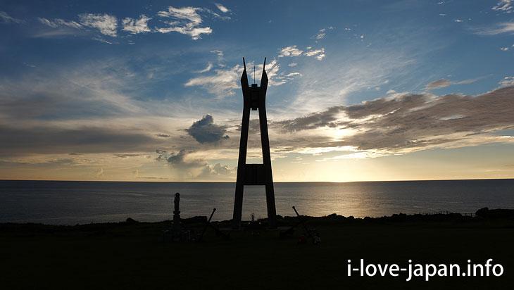 Battle Ship Yamato Memorial Tower at Cape Inutabu@Tokuno-shima Island Tourism(Amami/Kagoshima)