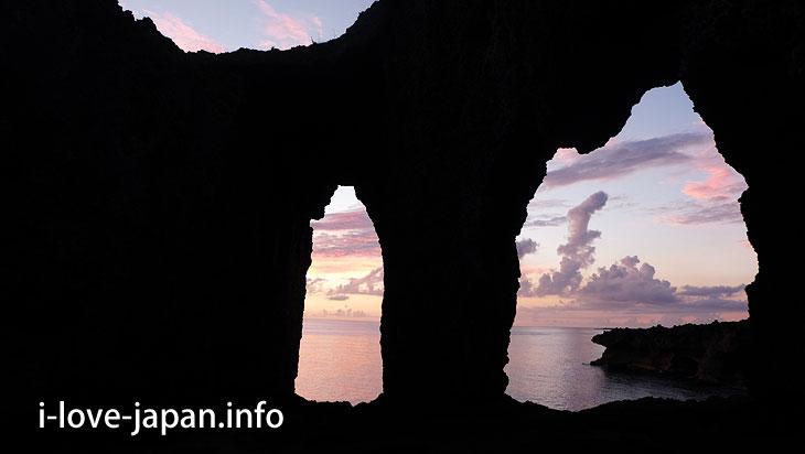 Innojoufuta is beautiful even at dusk@Tokuno-shima Island Tourism(Amami/Kagoshima)