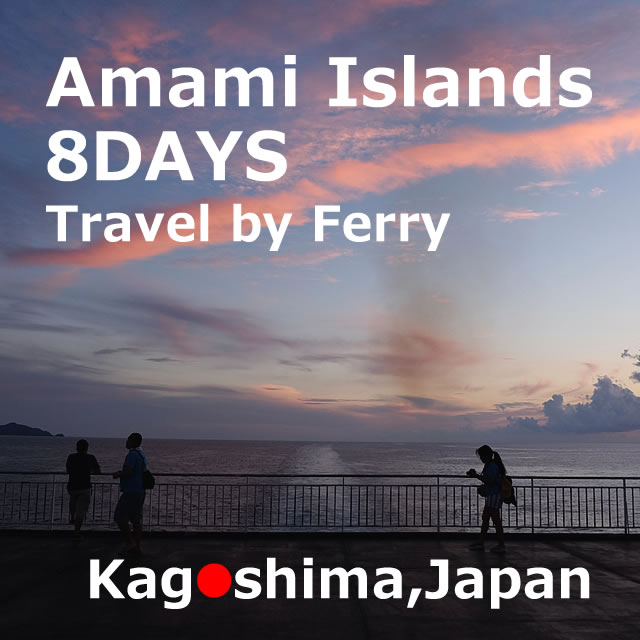 Travel by ferry to the Amami Islands【7 nights 8 days】 model course(Kagoshima)