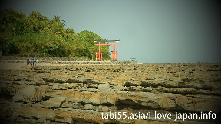 Sightseeing the Aoshima shrine and Devil's Washboard (Miyazaki)