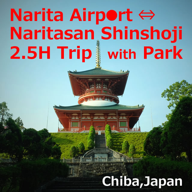 Narita Airport To Naritasan Shinshoji Temple, Park【2.5H Trip】Chiba